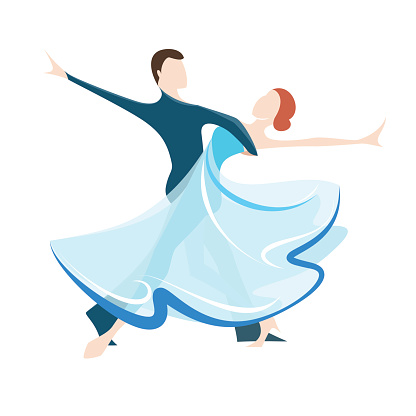 Ballroom Dancing Clip Art, Vector Images & Illustrations ...
