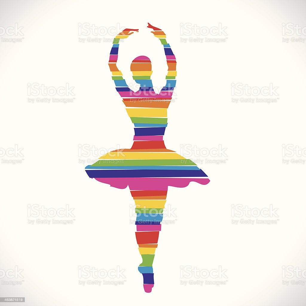 dancing royalty-free stock vector art