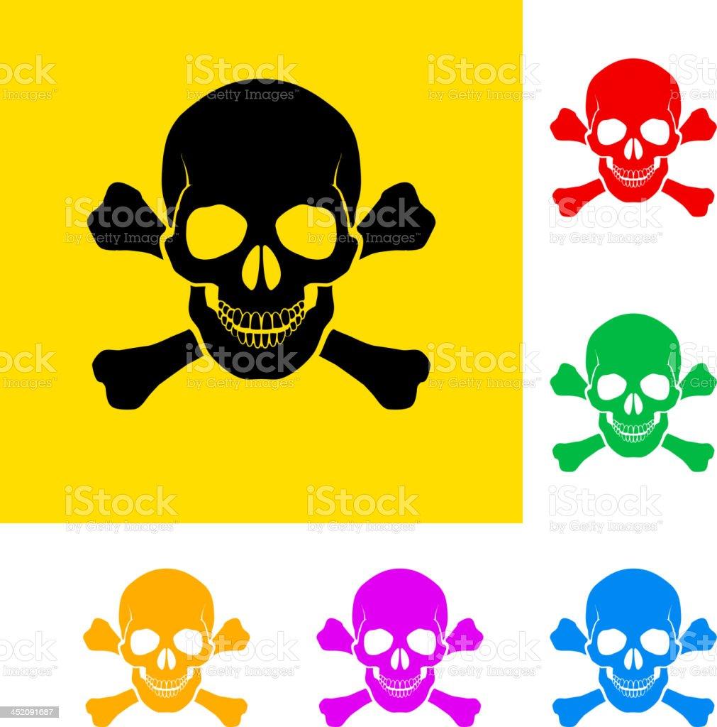 Danger sign. vector art illustration