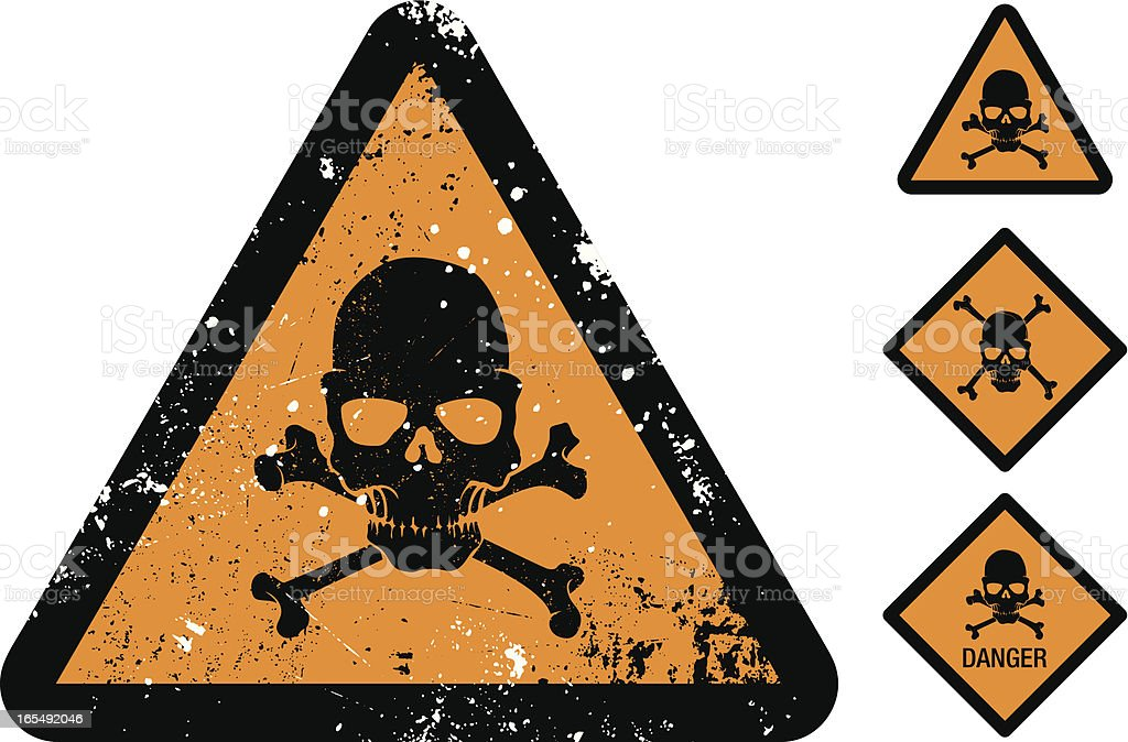 Danger! royalty-free stock vector art