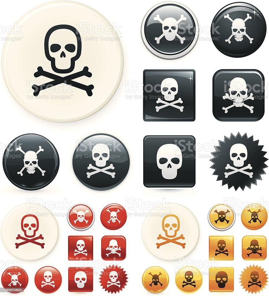 Danger vector art illustration