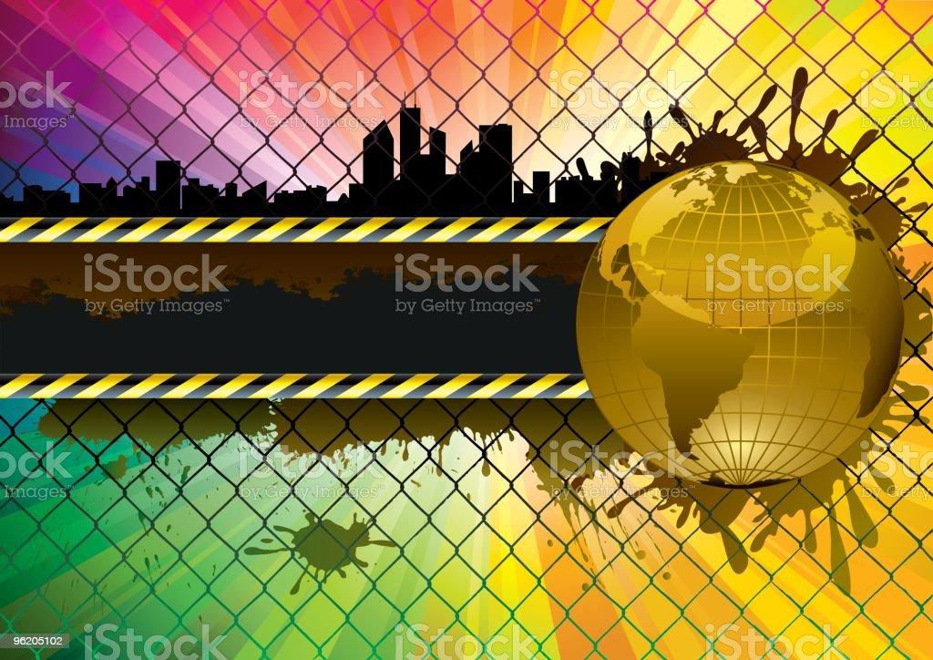 Danger world royalty-free stock vector art