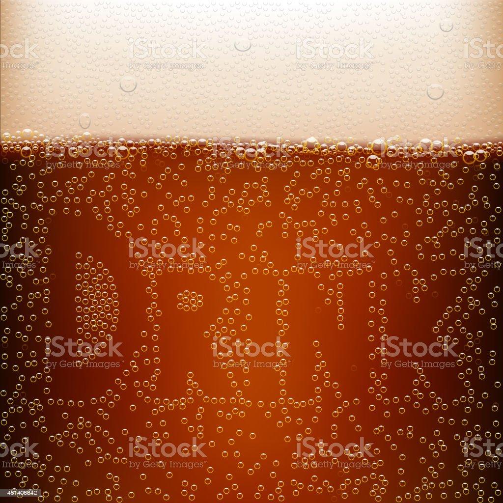 dark beer vector art illustration