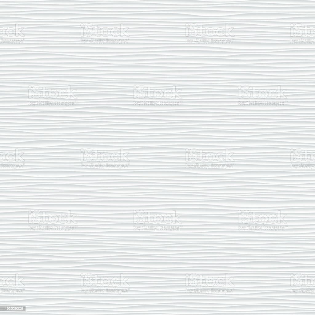 Dark black seamless texture. Wavy background vector art illustration