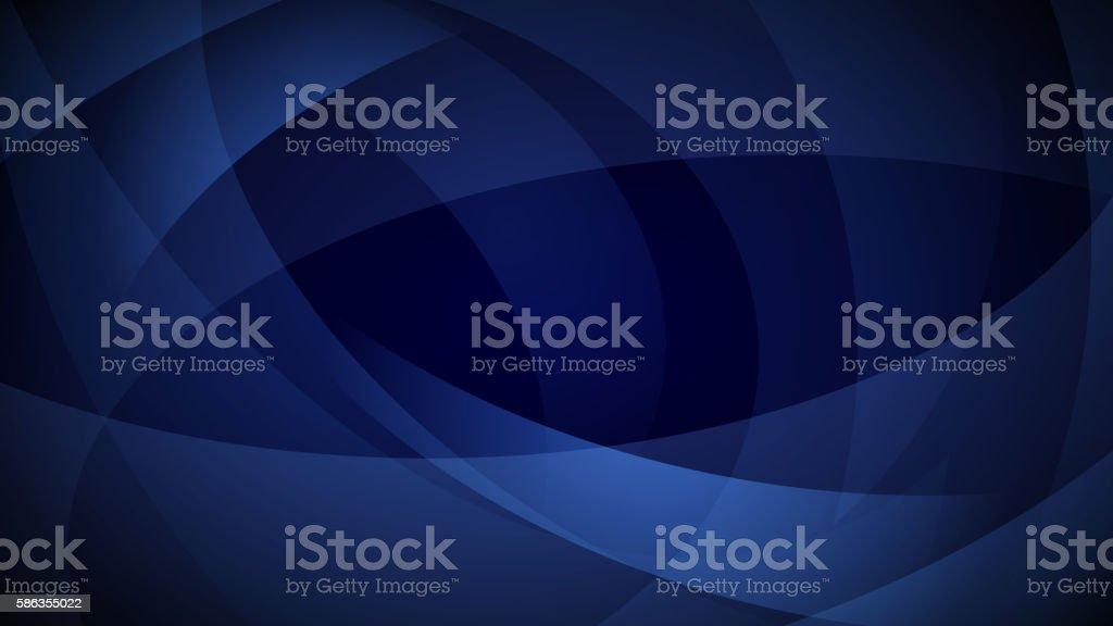 Dark blue abstract background vector art illustration