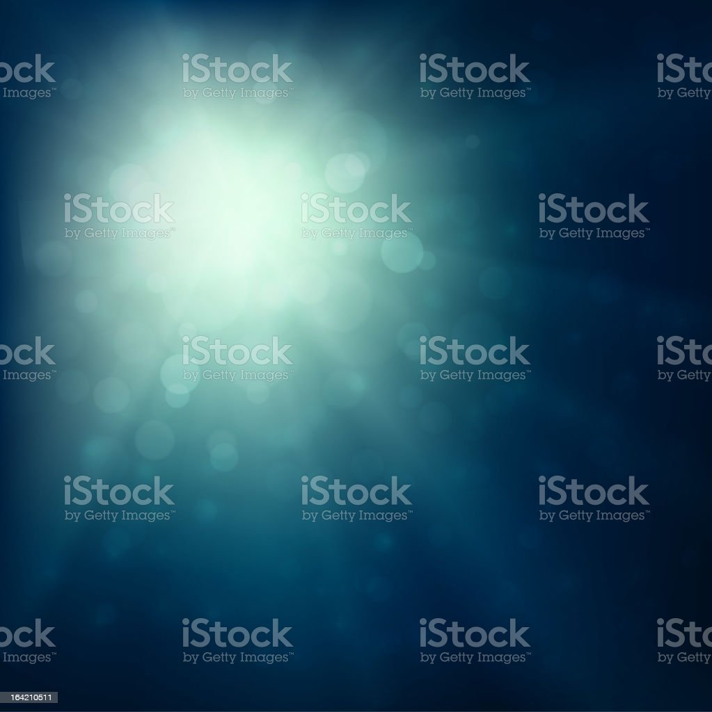 Dark blue background with light reflection pattern royalty-free stock vector art