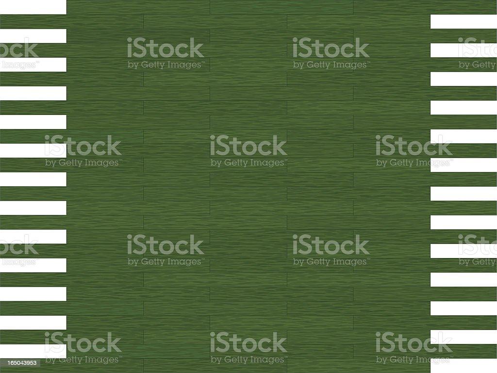 Dark Green Wood Panel royalty-free stock vector art