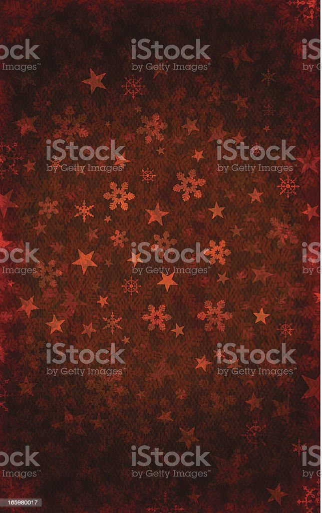 Dark Grungy Vector Christmas Background royalty-free stock vector art