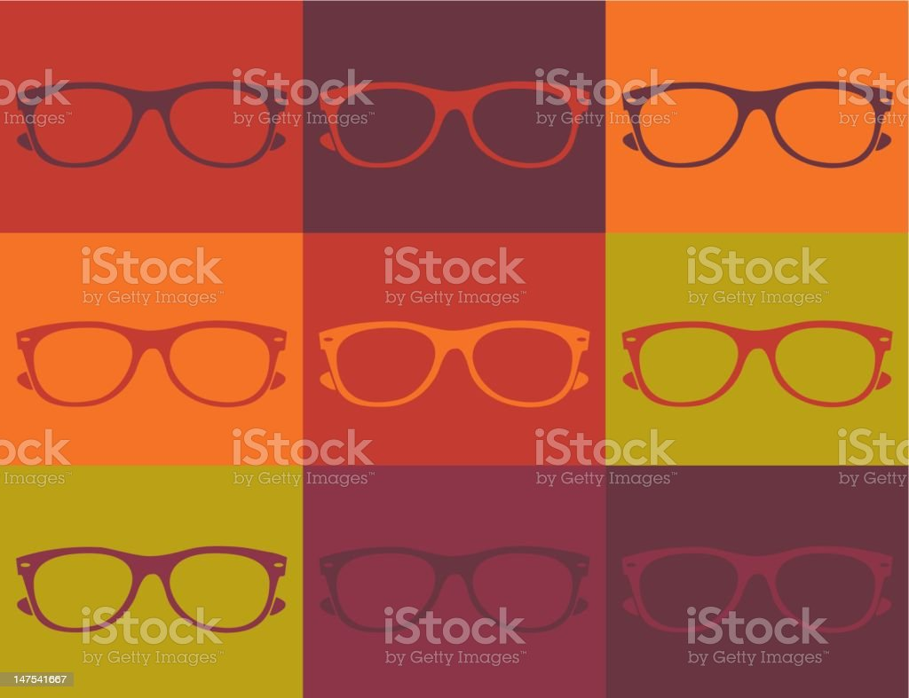 Dark Shades royalty-free stock vector art