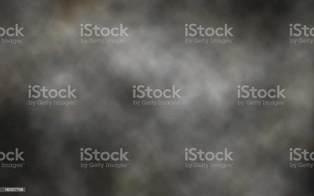 Dark smoke background vector art illustration