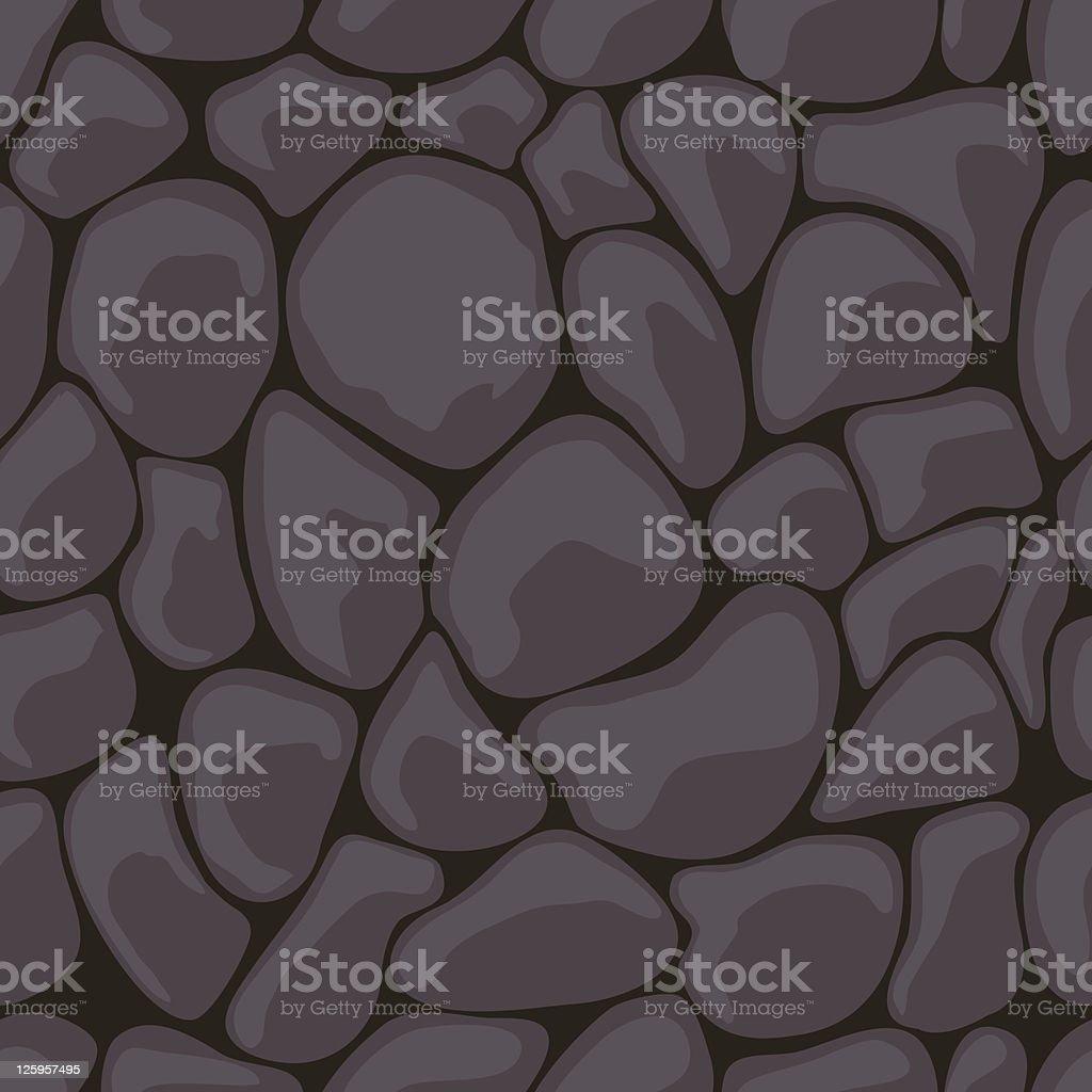 Dark Stone Seamless royalty-free stock vector art