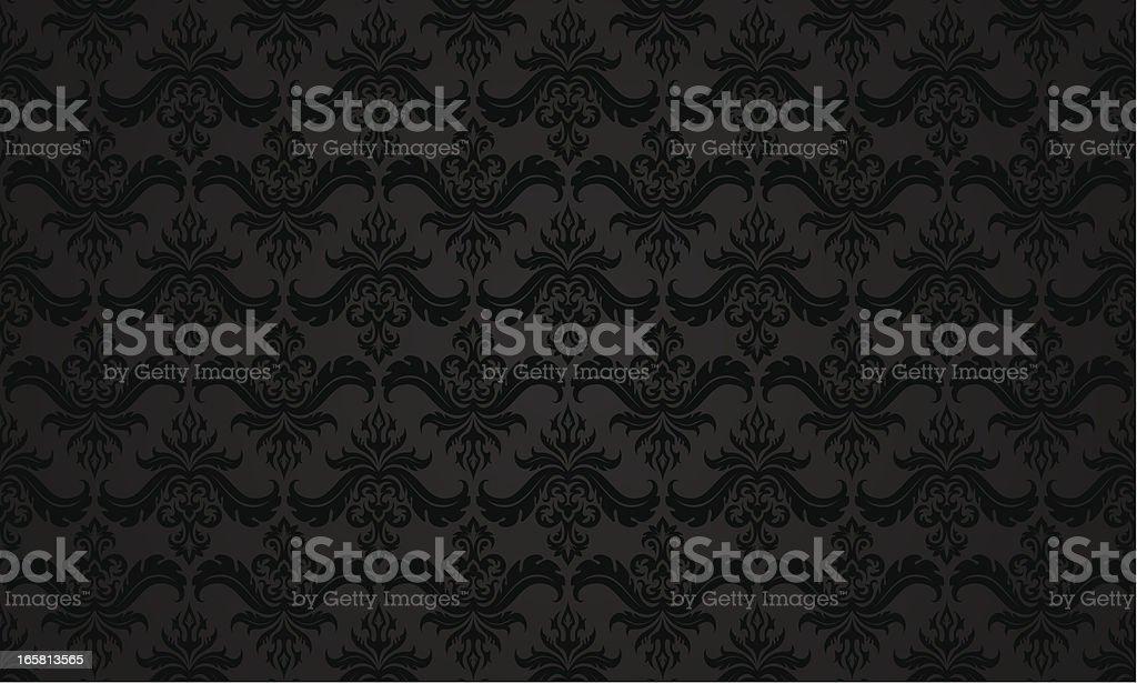 Dark vintage pattern royalty-free stock vector art