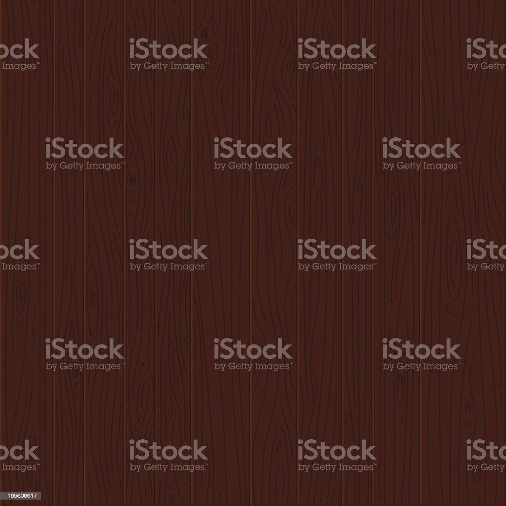 Dark wood seamless texture vector art illustration