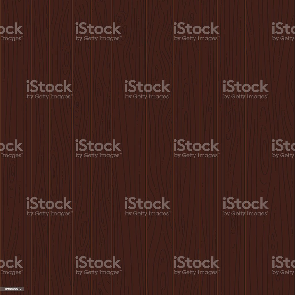 Dark wood seamless texture vector art illustration