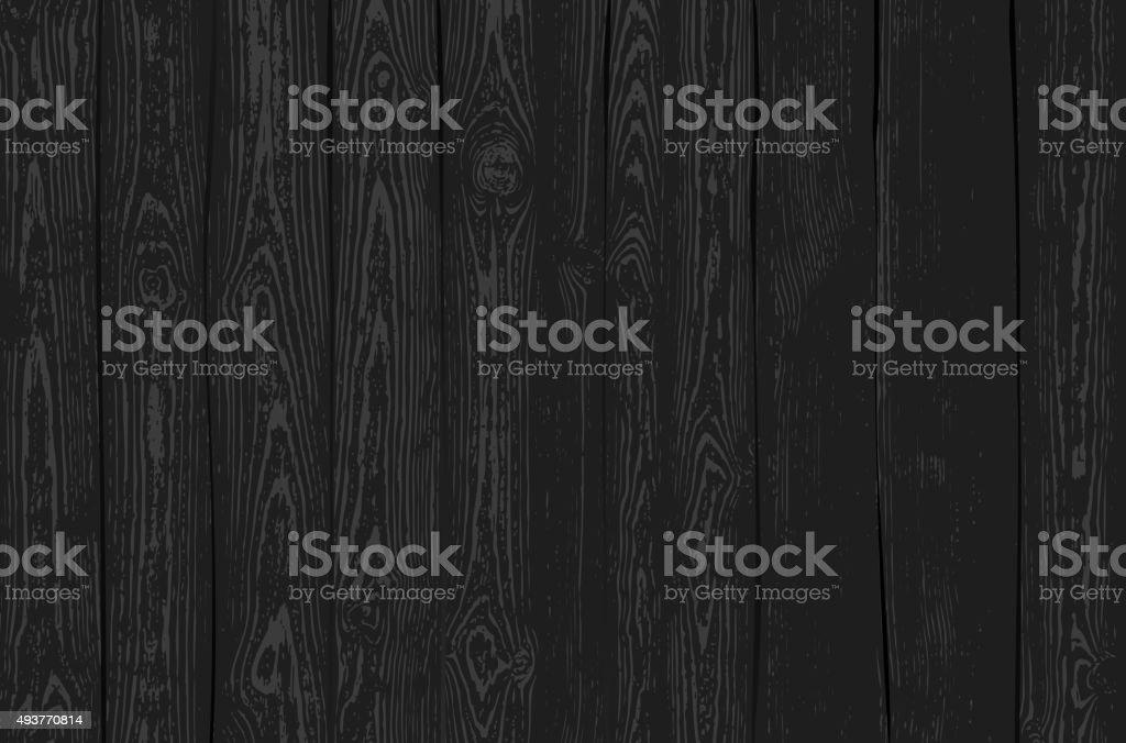 Dark Wooden Texture vector art illustration