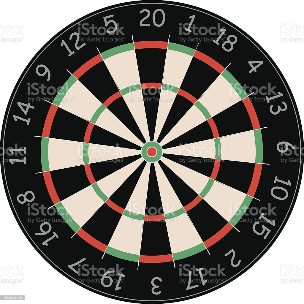 dart boarb royalty-free stock photo