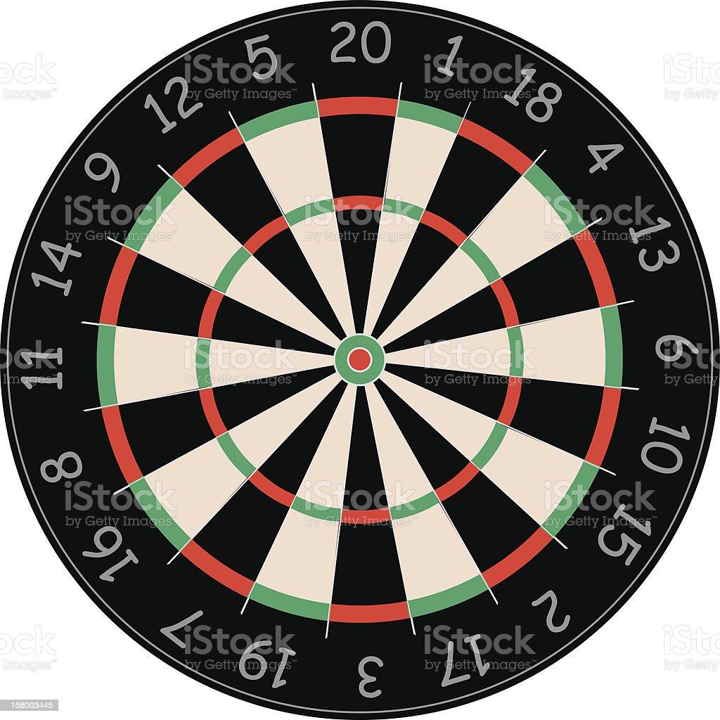 dart boarb royalty-free stock vector art