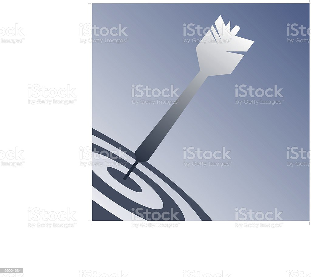 Dart Design royalty-free stock vector art