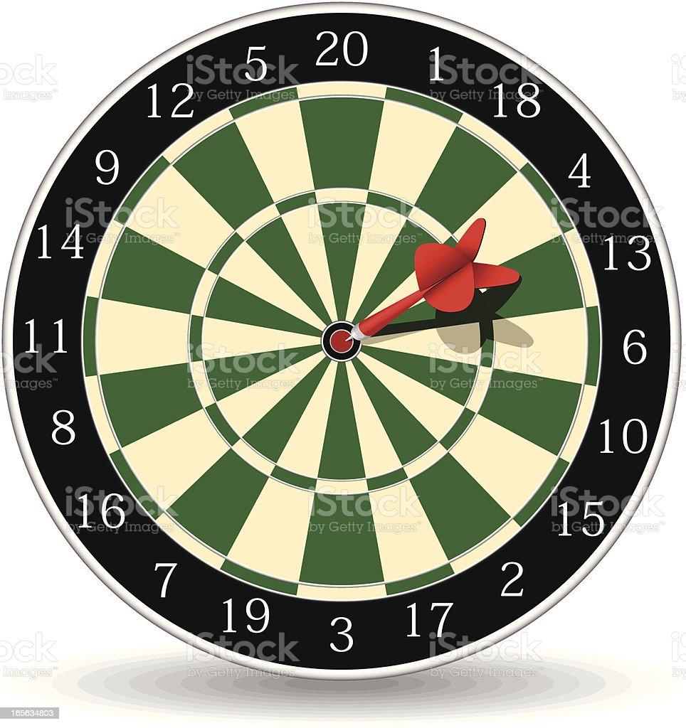 dart royalty-free stock vector art