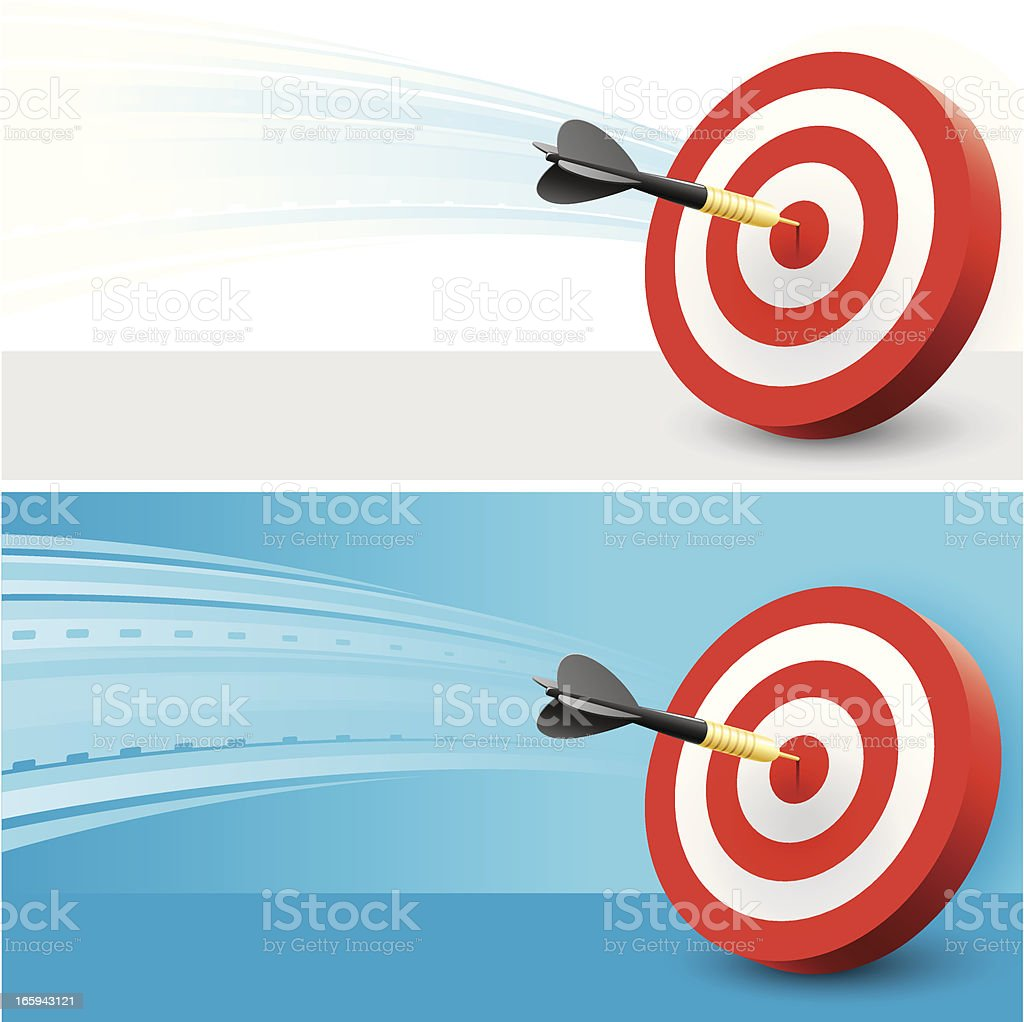 Darts woosh background royalty-free stock vector art