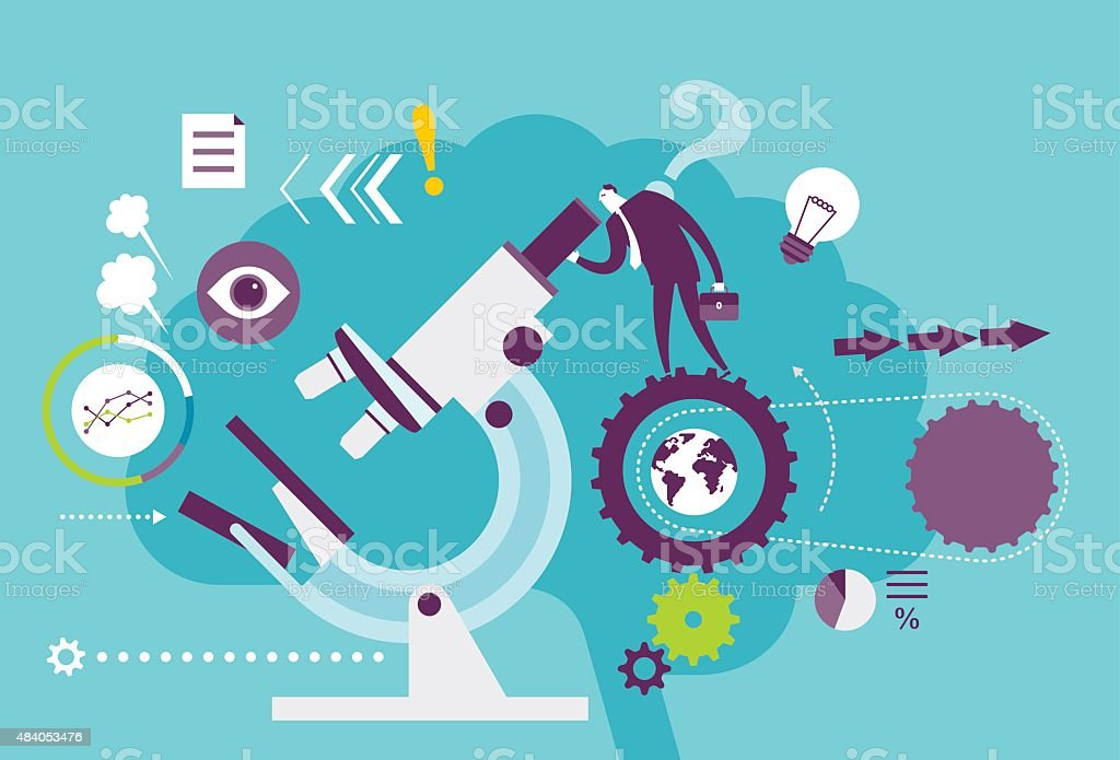 Data Analysis Stock Vector Art 484053476 | Istock