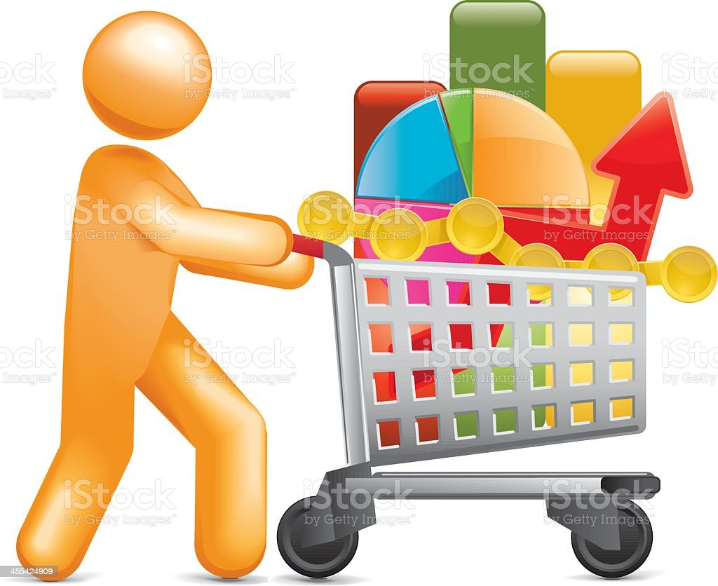 Data Collection royalty-free stock vector art