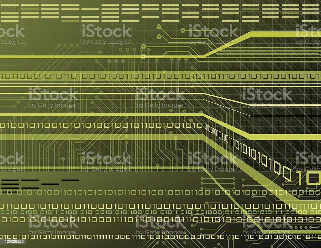 Data Stream 2 royalty-free stock vector art