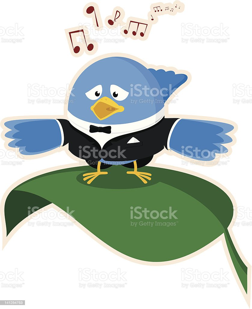 Dawn Chorus royalty-free stock vector art