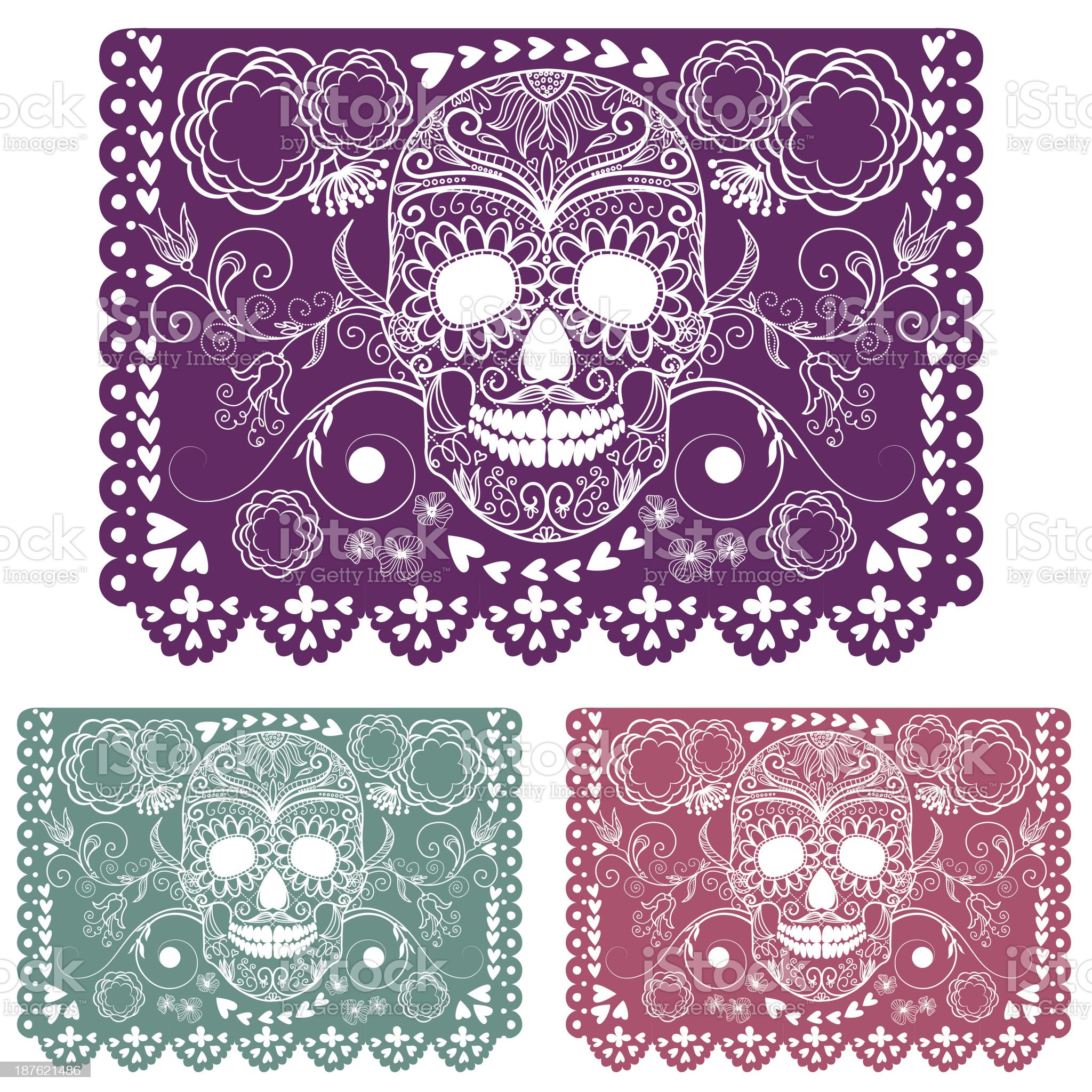 Day of the dead decoration. royalty-free stock vector art