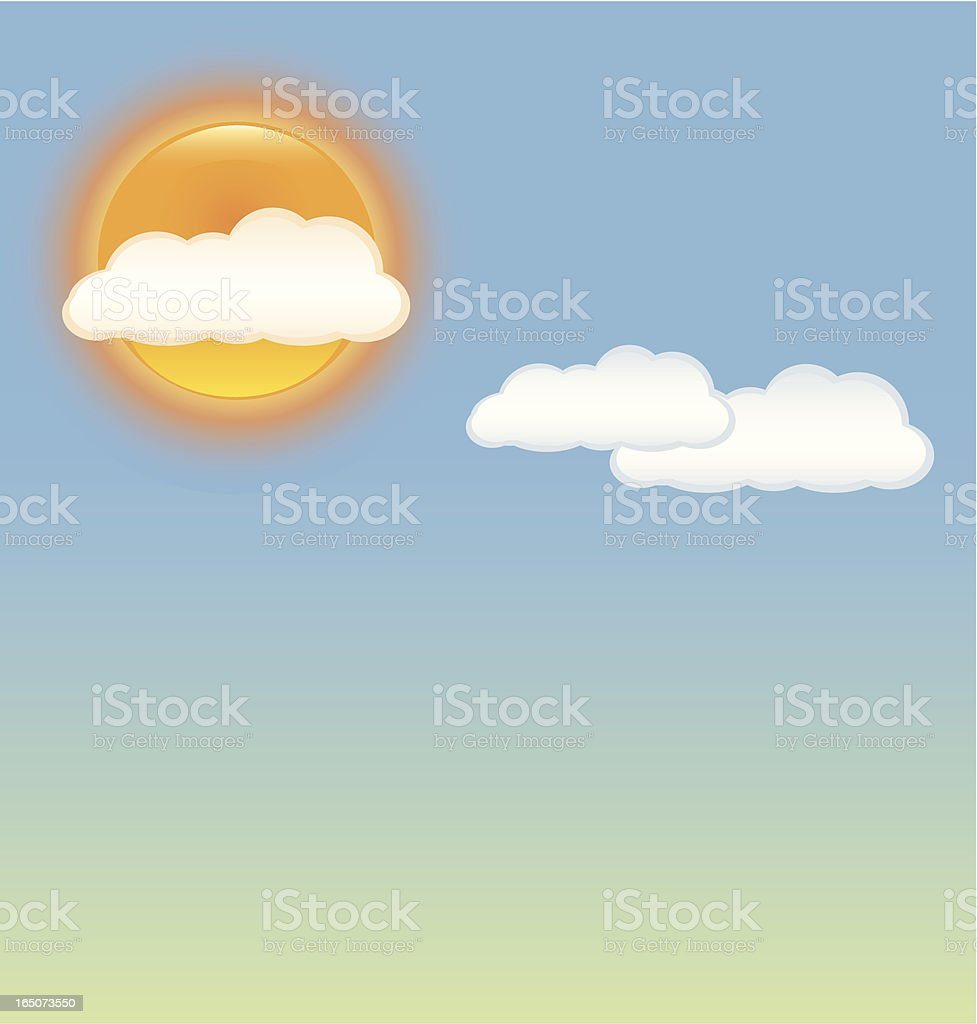 Day Time Sky Illustration royalty-free stock vector art