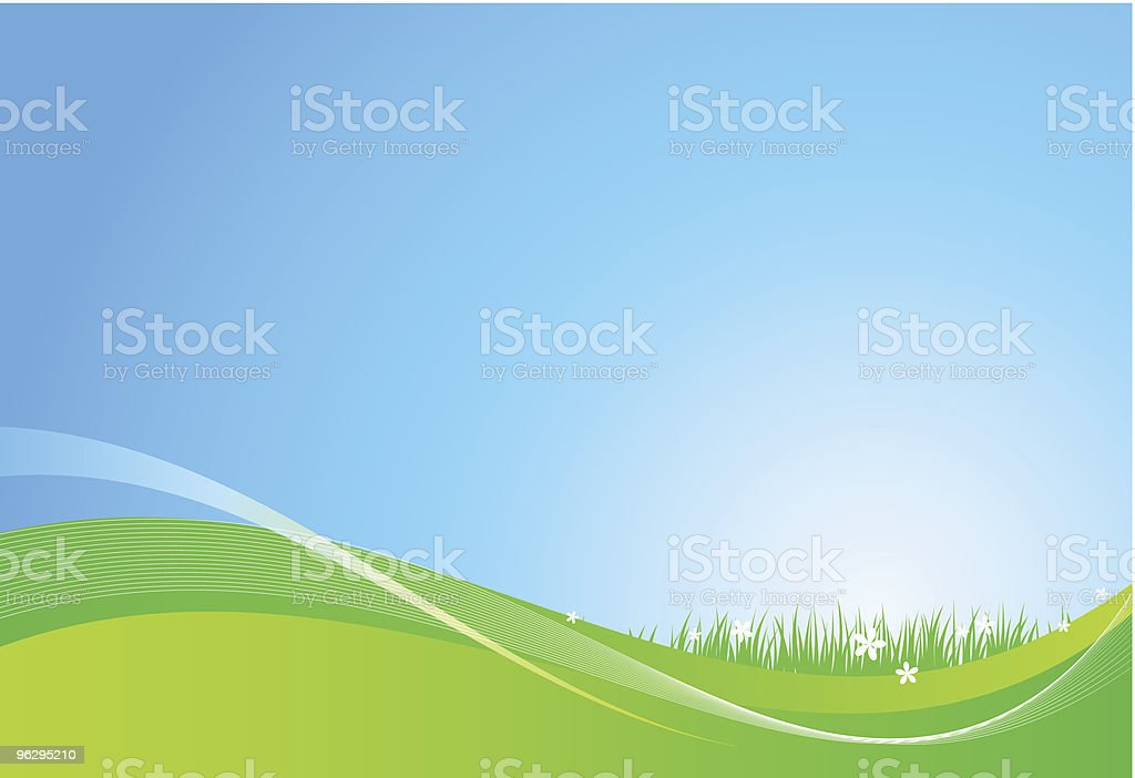 day_background royalty-free stock vector art