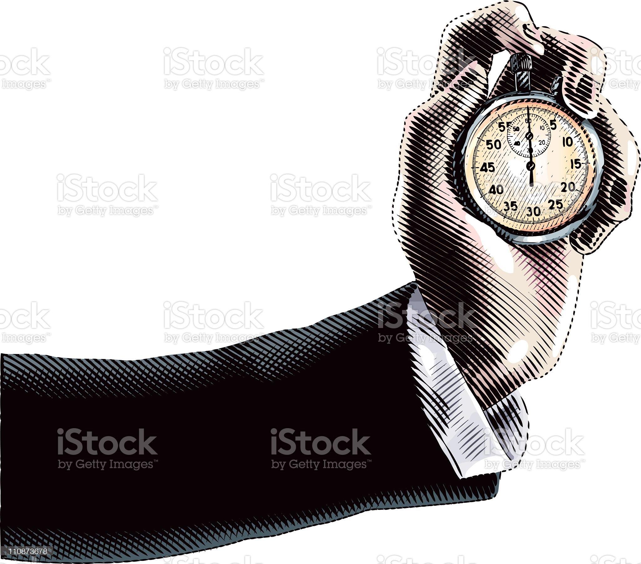 Deadlines royalty-free stock vector art