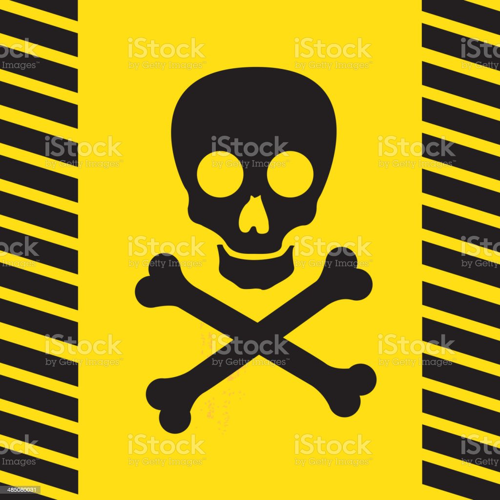 death sign vector art illustration