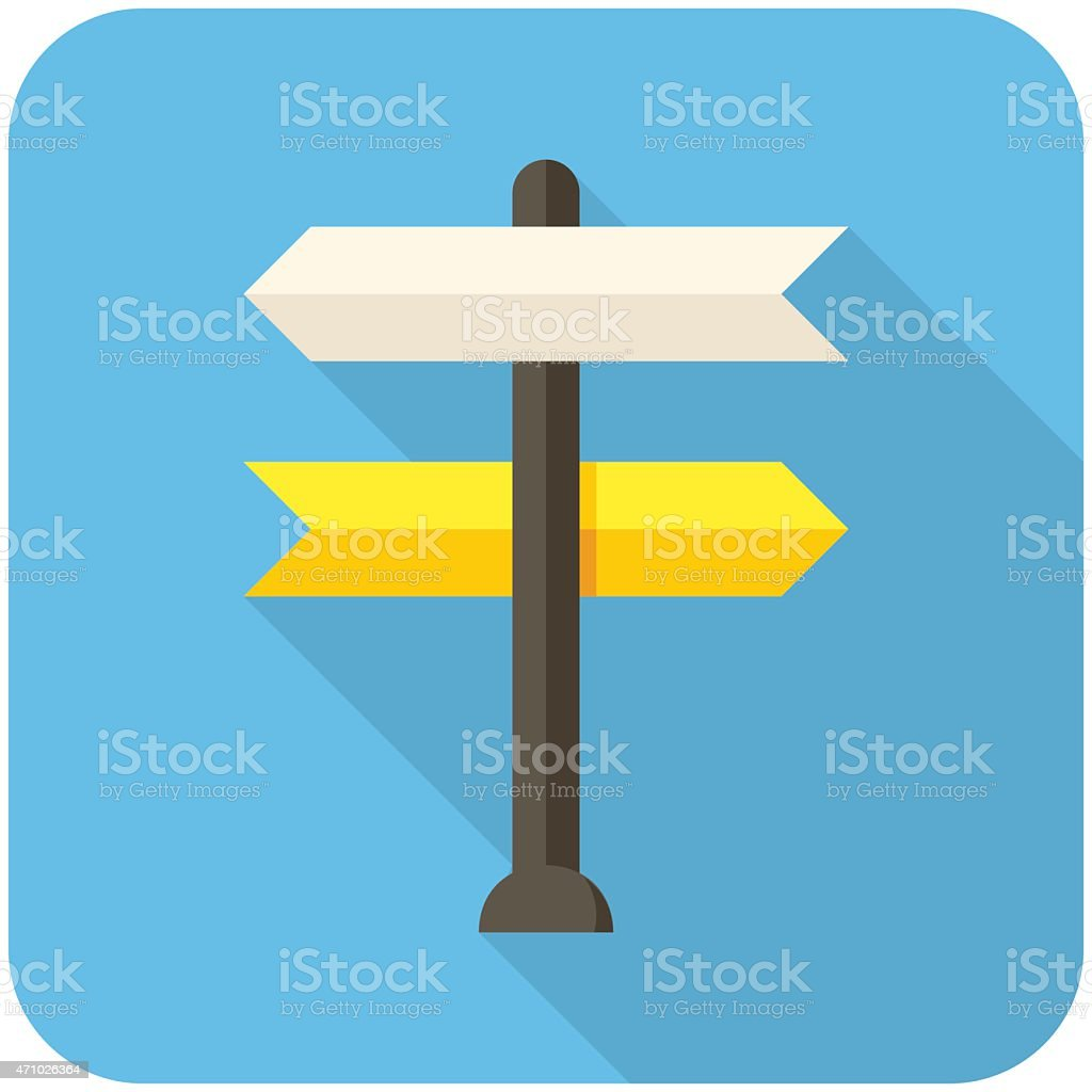 Decision making icon vector art illustration