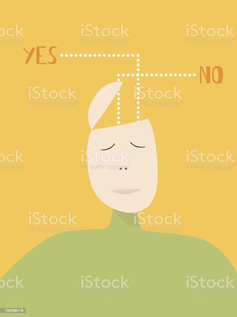 Decision royalty-free stock vector art