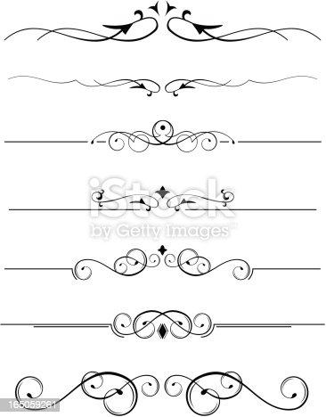 decorative accents stock vector art 165059261 istock - Decorative Accents