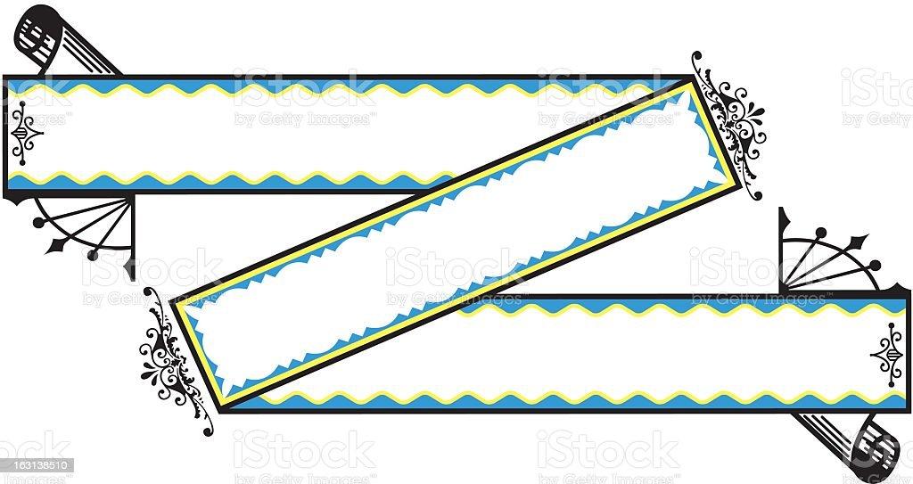 Decorative Banner royalty-free stock vector art