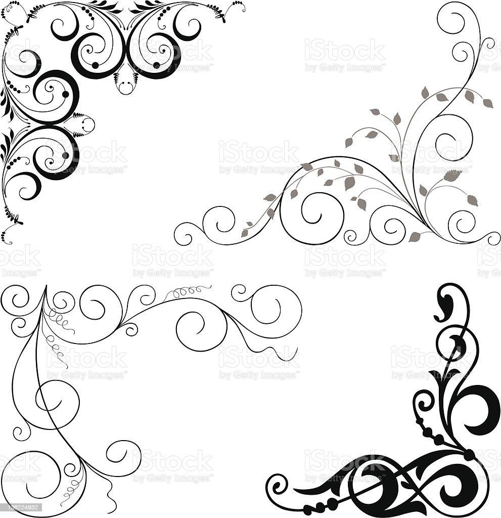 Decorative Corners stock vector art 136224932 | iStock