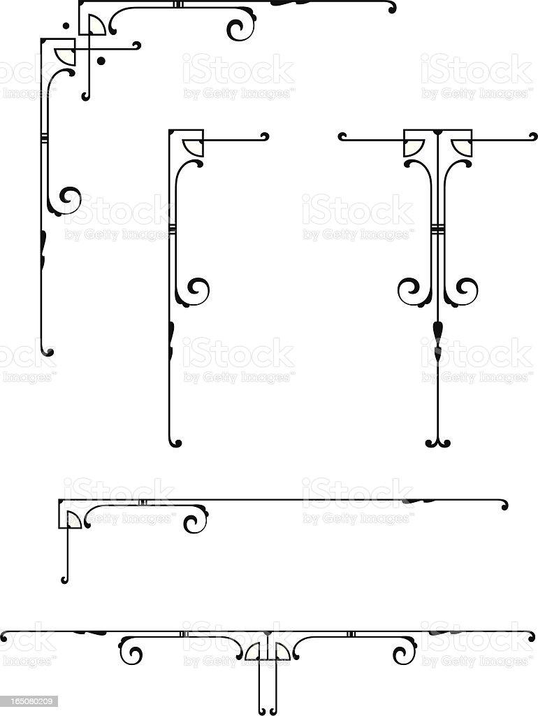 Decorative Design Elements vector art illustration