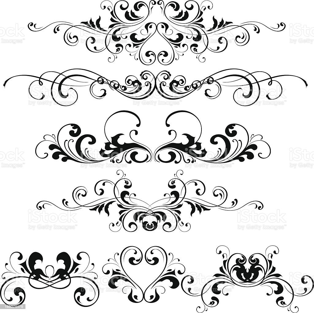 Decorative  element royalty-free stock vector art