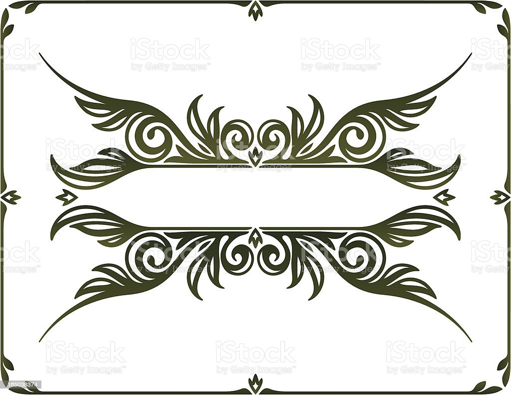 Decorative Elements vector art illustration