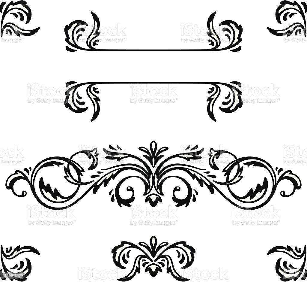 Decorative Elements royalty-free stock vector art