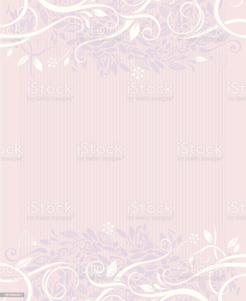 Decorative foliage background royalty-free stock vector art