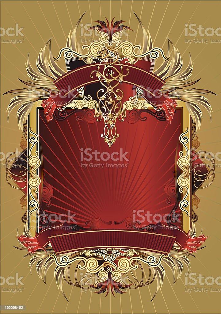 Decorative frame IV royalty-free stock vector art