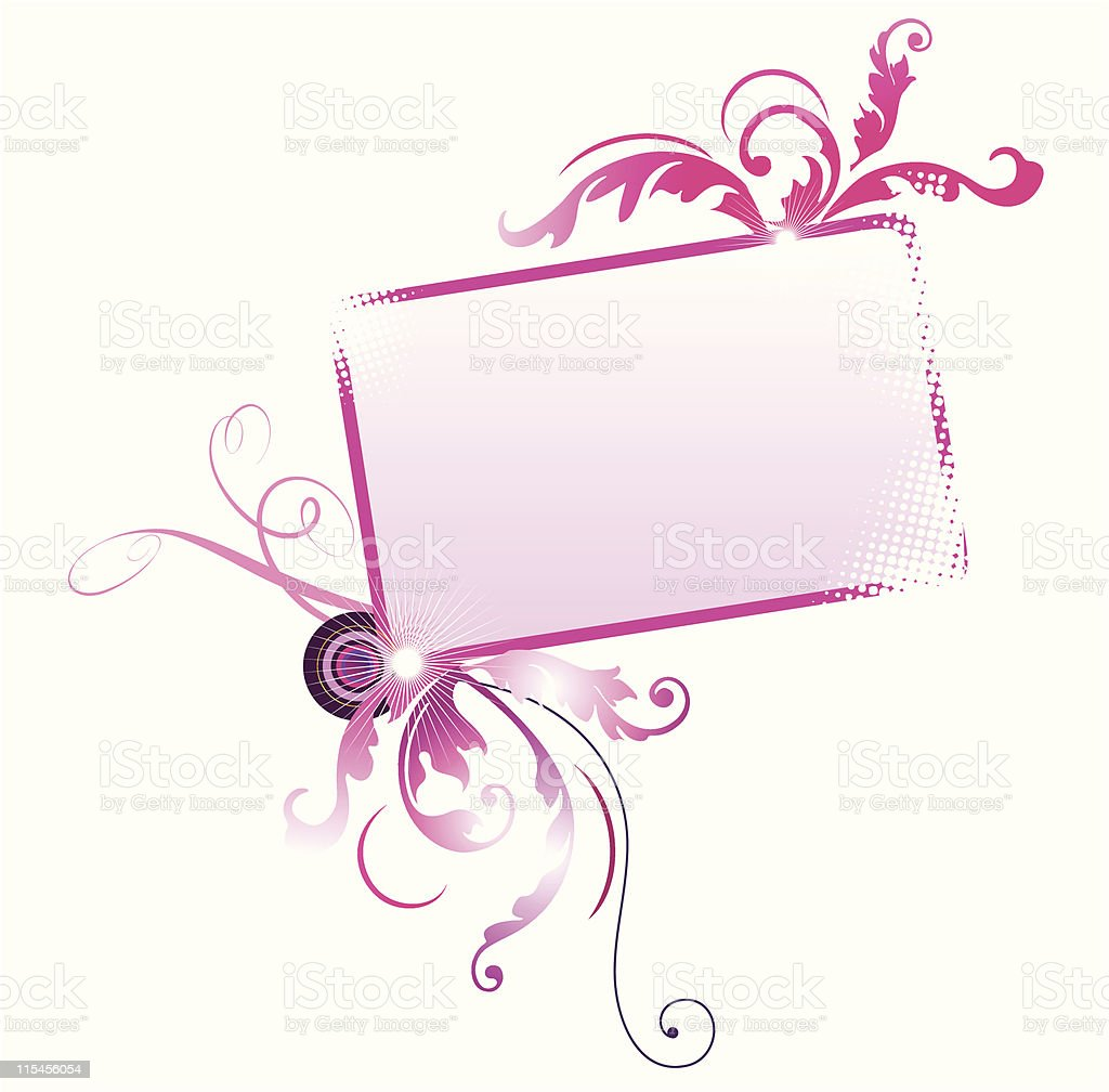 Decorative Frame royalty-free stock vector art