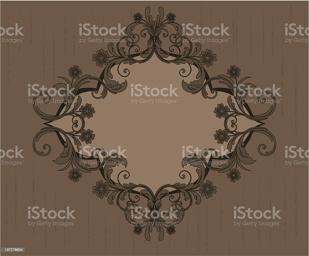 decorative frames royalty-free stock vector art