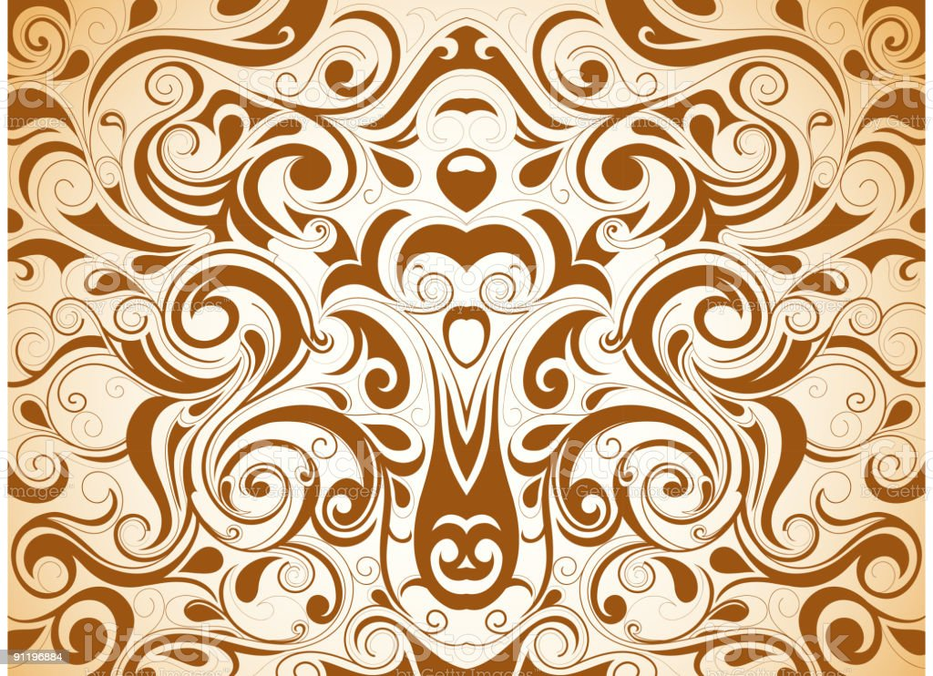 Decorative ornament royalty-free stock vector art