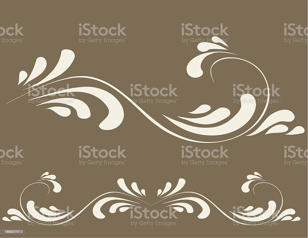 Decorative ornament, Vector royalty-free stock vector art