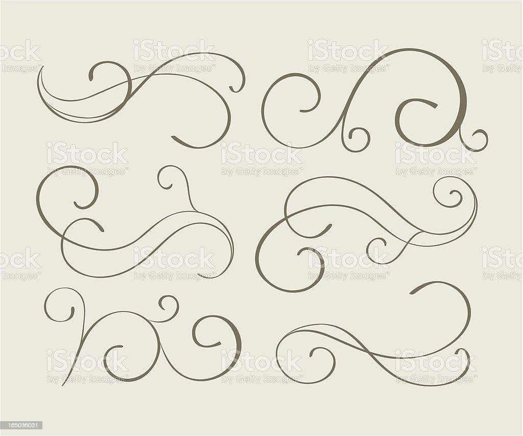 Decorative ornaments, Vector vector art illustration