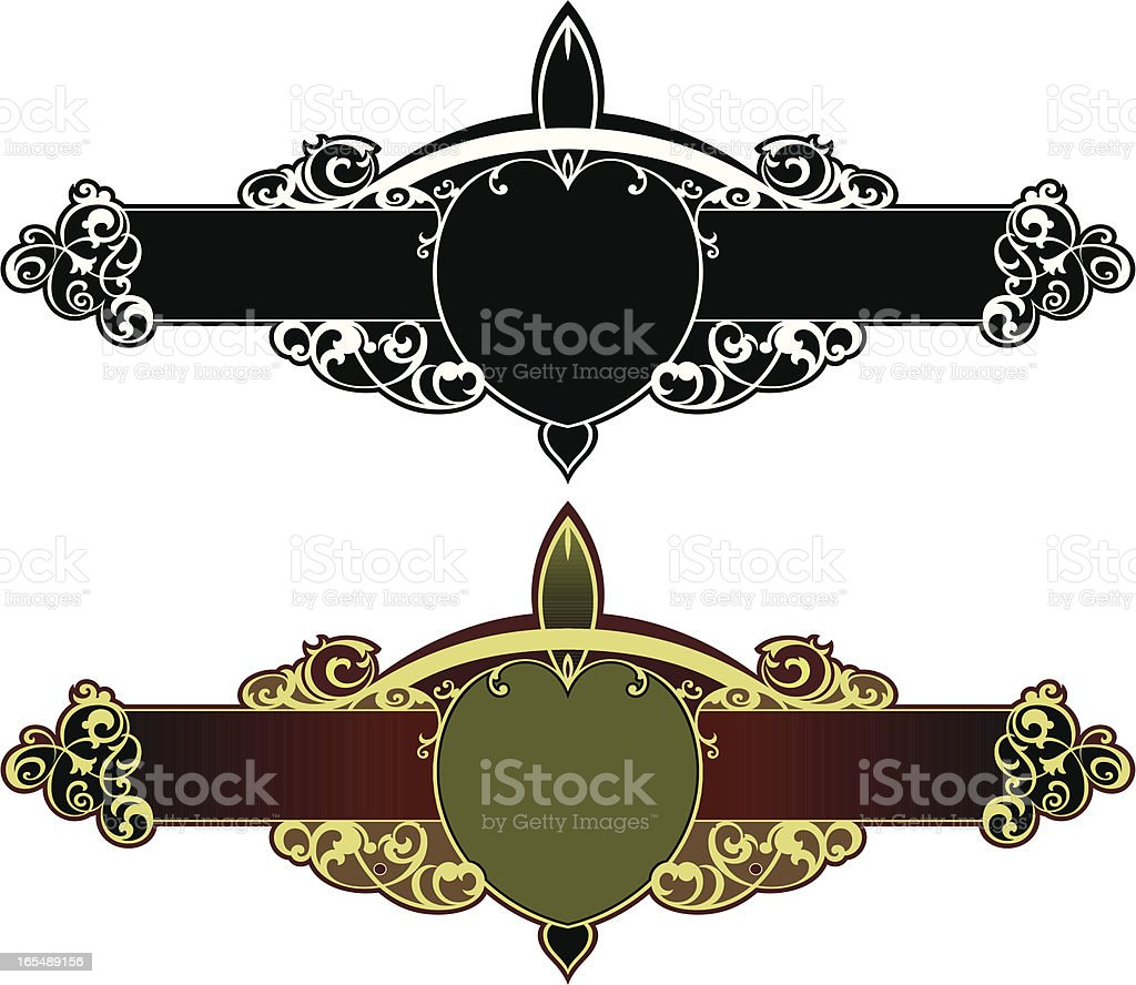 Decorative Panel royalty-free stock vector art
